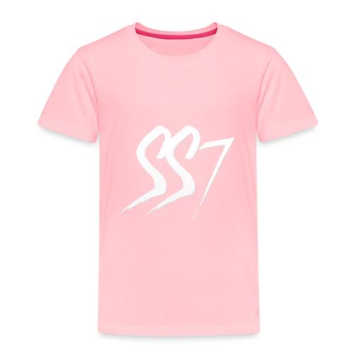 SS7 White logo - Toddler Premium T-Shirt