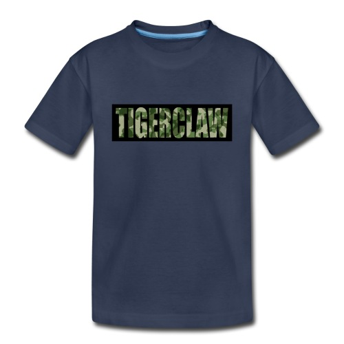 TigerClawCamo - Toddler Premium T-Shirt