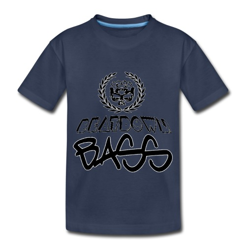 BEATDOWN BLACK LOGO - Toddler Premium T-Shirt