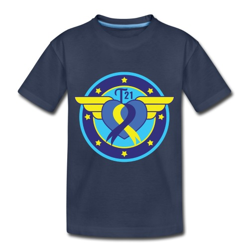 Down syndrome Hero - Toddler Premium T-Shirt