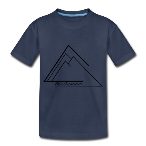 The Summit Phone case - Toddler Premium T-Shirt