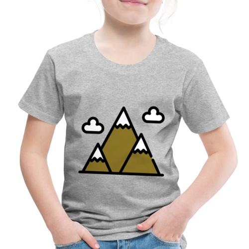 The Mountains - Toddler Premium T-Shirt