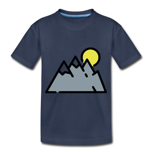 The High Mountains - Toddler Premium T-Shirt