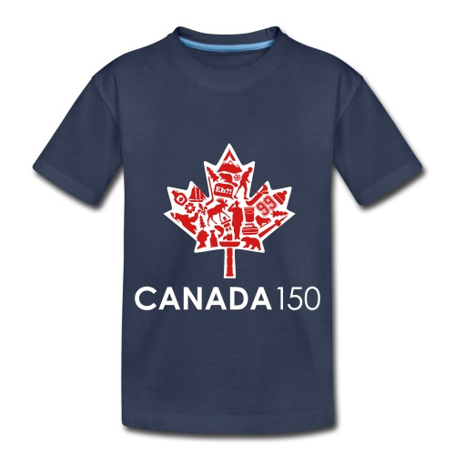 Canada 150 Womens - White - Toddler Premium T-Shirt