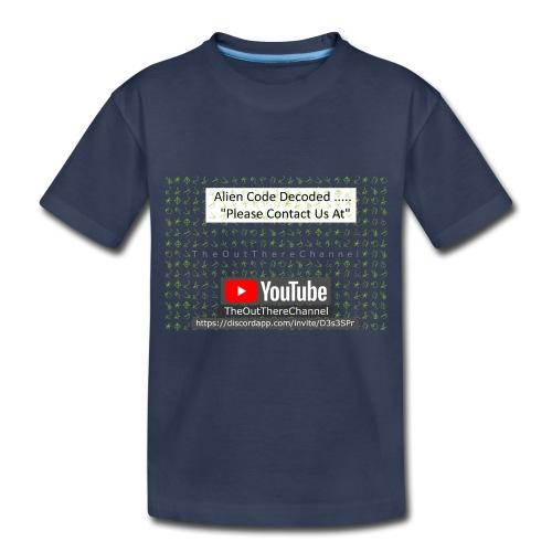 AlienCode v3 TransparentBG2019 - Toddler Premium T-Shirt