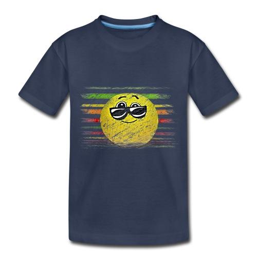 KEEP COOL SMILEY - Toddler Premium T-Shirt