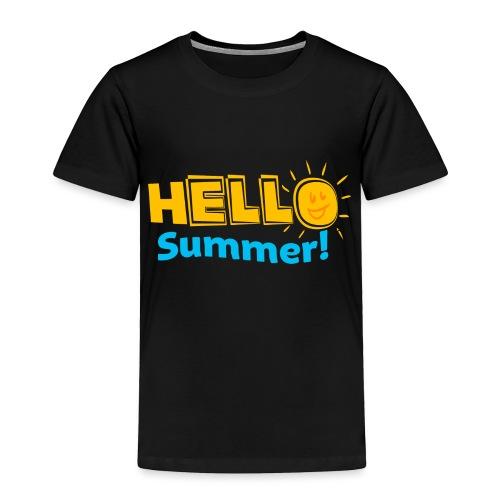 Kreative In Kinder Hello Summer! - Toddler Premium T-Shirt