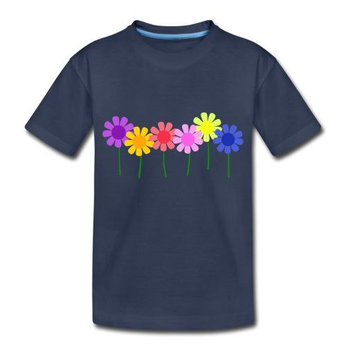 flowers 1 - Toddler Premium T-Shirt
