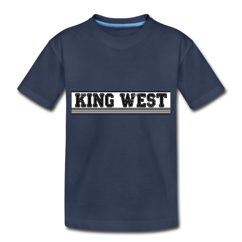 King West OG logo - Toddler Premium T-Shirt