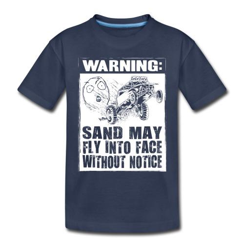 Dune Buggy Sand Warning - Toddler Premium T-Shirt