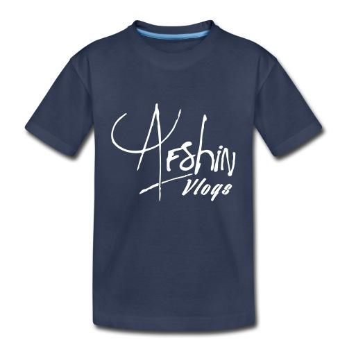 Afshin Vlogs Merchandise - Toddler Premium T-Shirt
