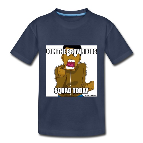 Join The Brown Kids - Toddler Premium T-Shirt