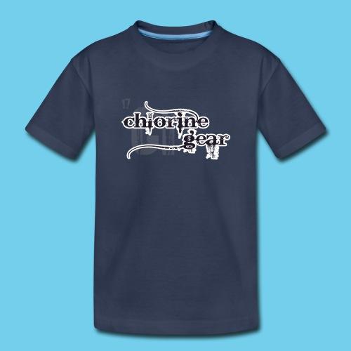 Chlorine Gear Textual stacked Periodic backdrop - Toddler Premium T-Shirt