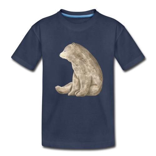 Sitting Bear - Toddler Premium T-Shirt