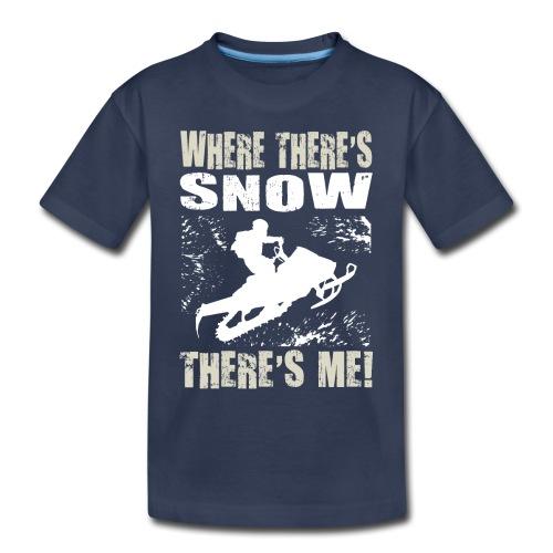 Snowmobile Snow Me - Toddler Premium T-Shirt