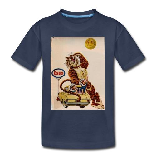 48d538beb72153486dfd2e84c5050151 stuffed tiger ol - Toddler Premium T-Shirt