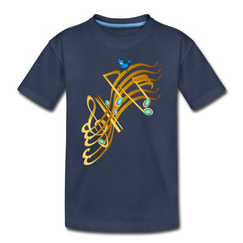 Golden Notes - Toddler Premium T-Shirt