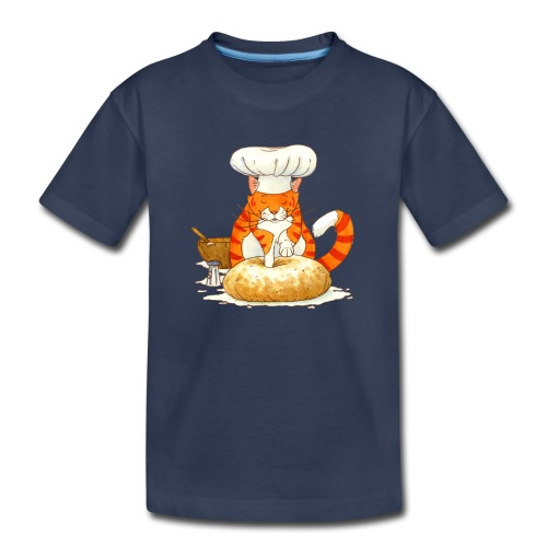 Chef Cat by Rachael B - Toddler Premium T-Shirt