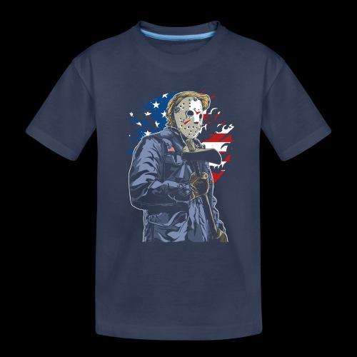 American Axe Killer - Toddler Premium T-Shirt
