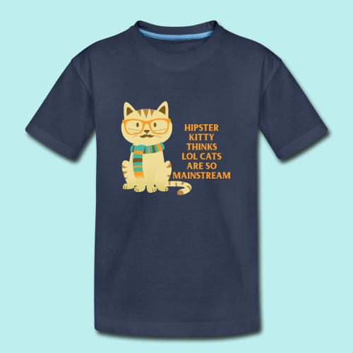 Hipster Kitty png - Toddler Premium T-Shirt