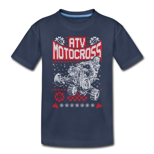 ATV Quad Motocross - Toddler Premium T-Shirt