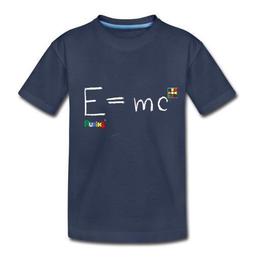 Rubik's Cube Theory Of Relativity Formula - Toddler Premium T-Shirt