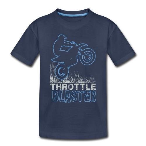 Dirt Bike Throttle Blast - Toddler Premium T-Shirt