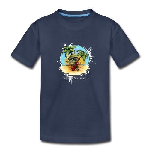 let's have a safe surf home - Toddler Premium T-Shirt