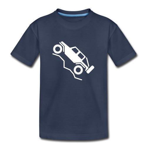 Offroad 4wd Rock Crawling Logo - Toddler Premium T-Shirt