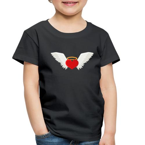 Winged heart - Angel wings - Guardian Angel - Toddler Premium T-Shirt