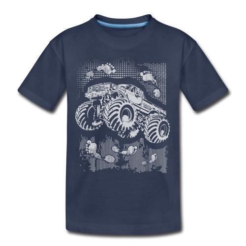 Monster Big Foot Grunge Baby & Toddler Shirts - Toddler Premium T-Shirt