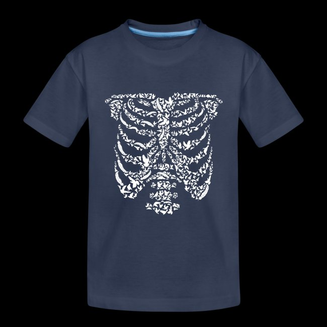 Ribcaged Bird | Halloween Bird Skeleton