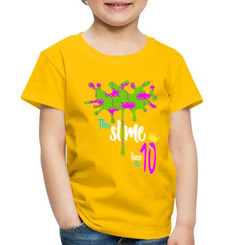 Slime Glitter Party - Toddler Premium T-Shirt