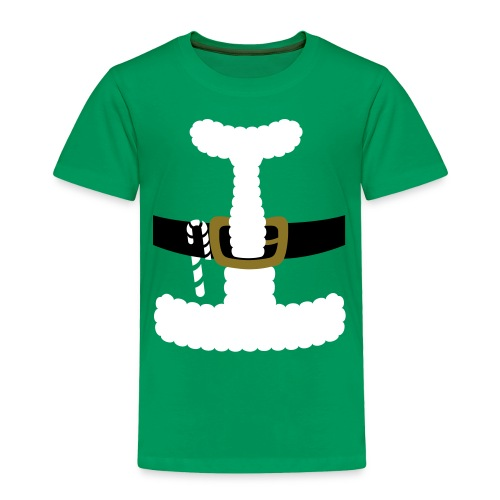 SANTA CLAUS SUIT - Men's Polo Shirt - Toddler Premium T-Shirt