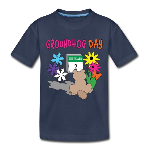 Groundhog Day Dilemma - Toddler Premium T-Shirt