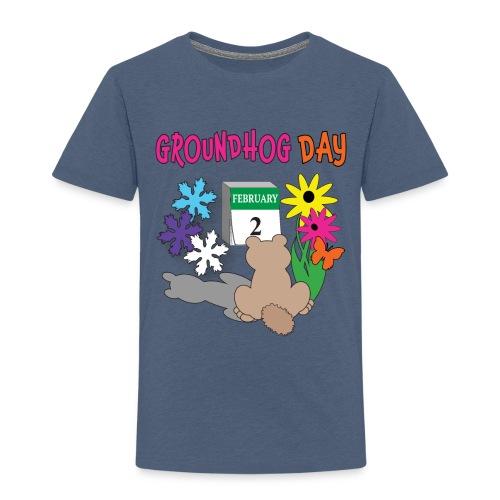 Groundhog Day Dilemma - Toddler Premium T-Shirt