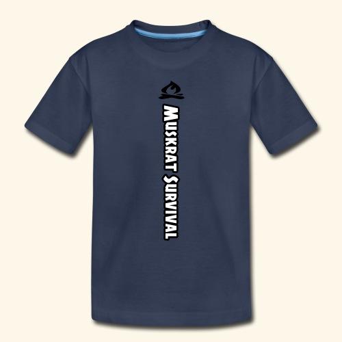 Muskrat Survival Tall - Toddler Premium T-Shirt