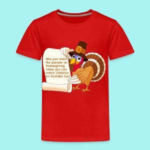 Thanksgiving Turkey - Toddler Premium T-Shirt