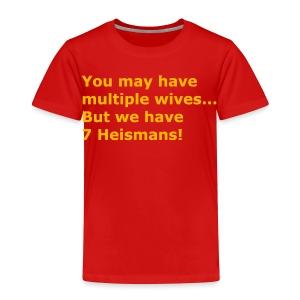 Multiple Wives - Toddler Premium T-Shirt