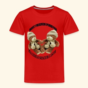 Best Friends forever design - Toddler Premium T-Shirt