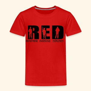 RED Friday - Toddler Premium T-Shirt