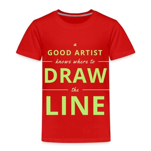 Good Artists - Toddler Premium T-Shirt