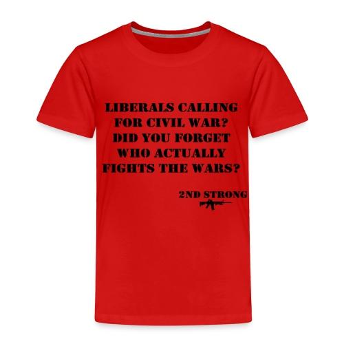 Civil War - Toddler Premium T-Shirt