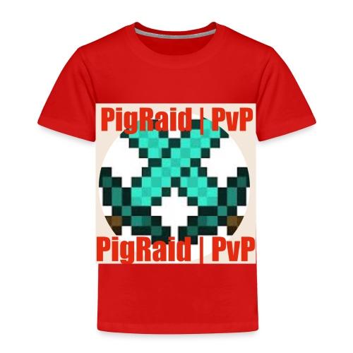 PigRaid Custom Logo - Toddler Premium T-Shirt