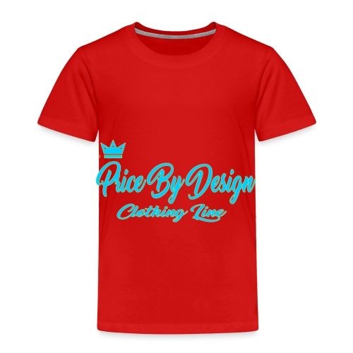 Price By Design Logo - Toddler Premium T-Shirt