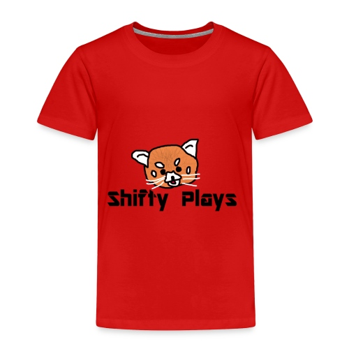 Shifty: Red Panda Tee Male - Toddler Premium T-Shirt