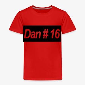 Dan # 16 Classic Logo - Toddler Premium T-Shirt