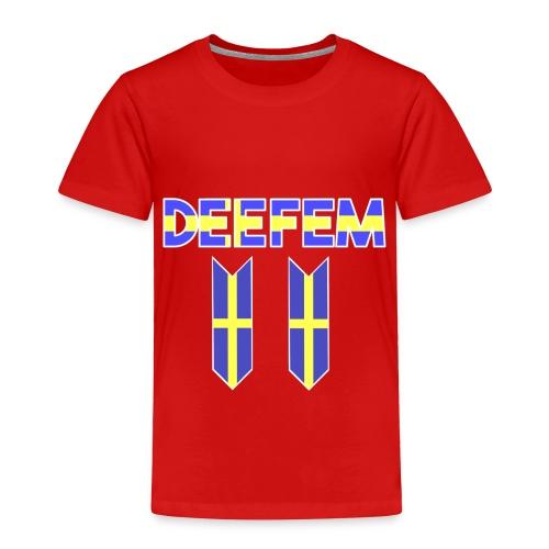 Deefem Swedish - Toddler Premium T-Shirt