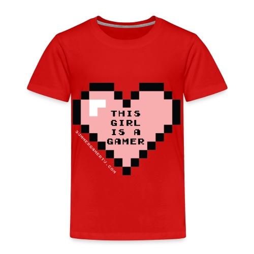 summergamertv t shirt pink black 01 - Toddler Premium T-Shirt