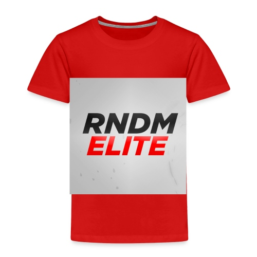 RNDM ELITE logo - Toddler Premium T-Shirt